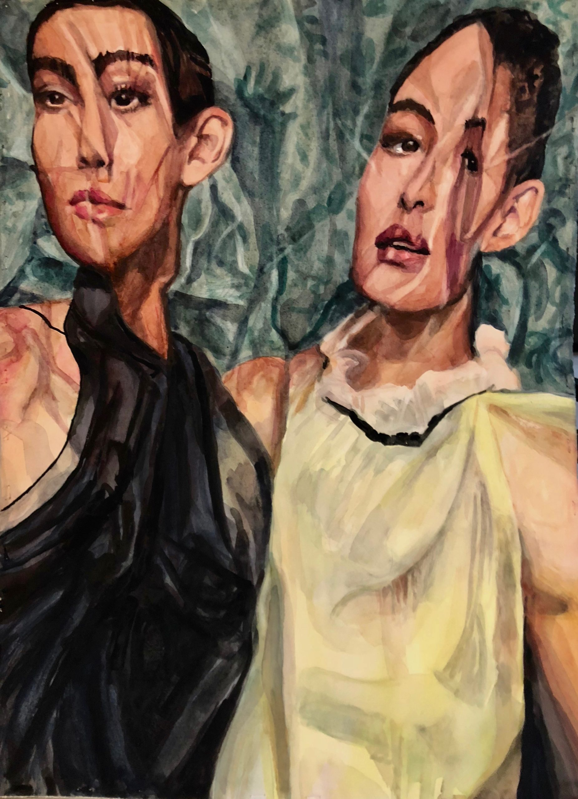 Dolce & Gabbana - Watercolor by Margaret Crowley